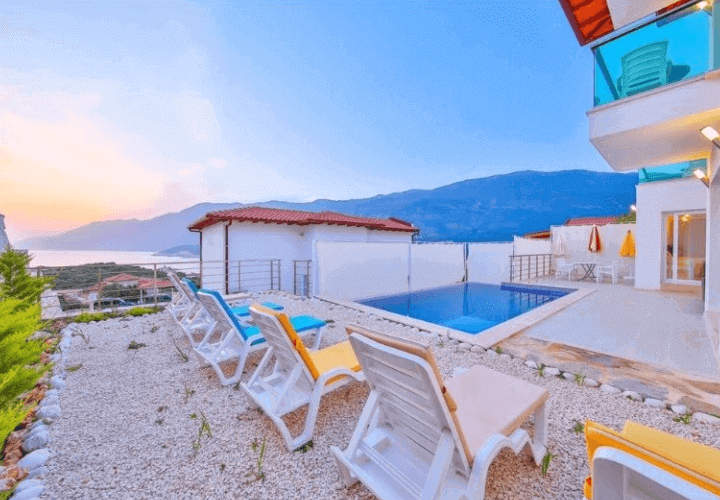 kaş villa james 5
