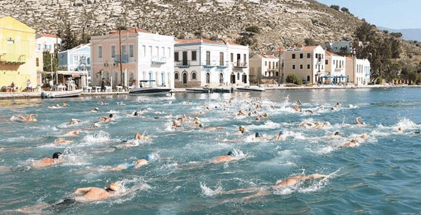 meis kaş yüzme yarışı